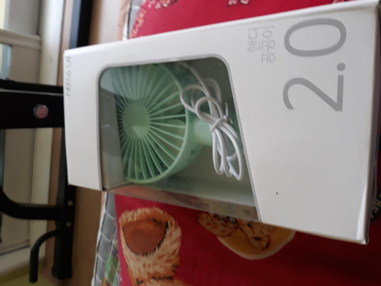 선풍기  USB연결충전  팔아요.여름선풍기  직거래 탁상 용