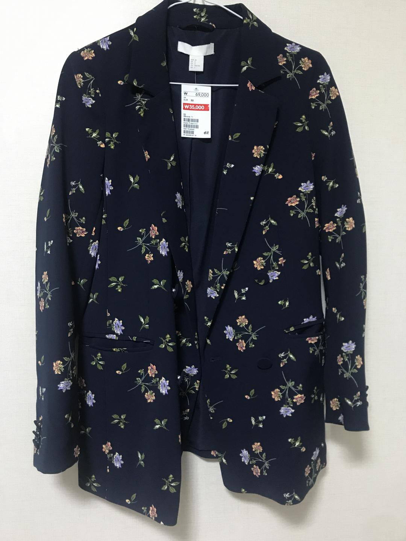 h&m 꽃 자켓