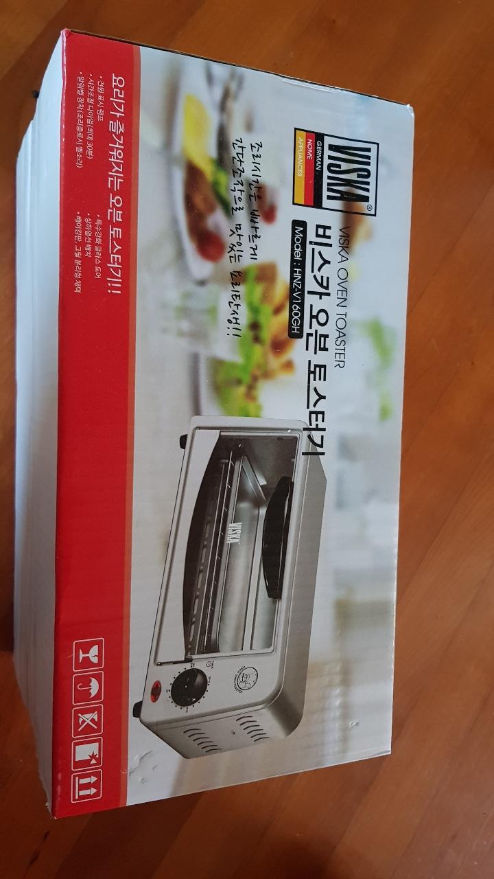 비스카 오븐 토스트기 HNZ-V160GH/토스터기