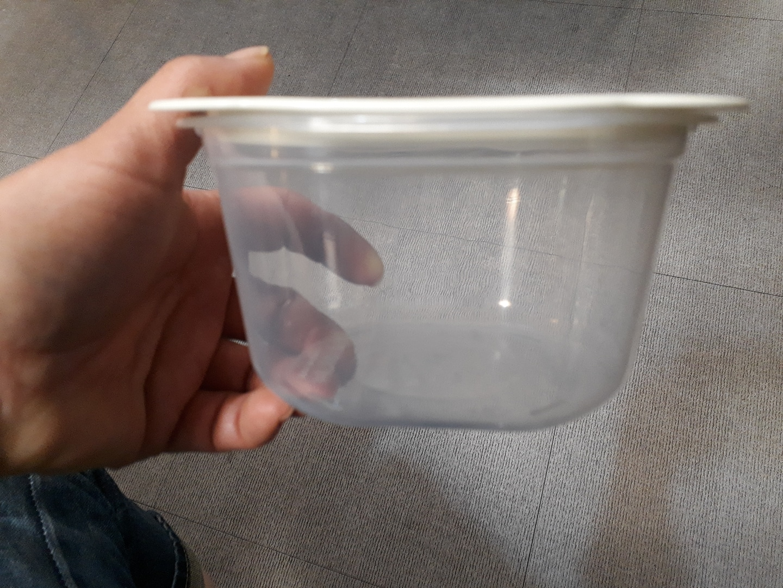 냉동용기  전자렌지가능
