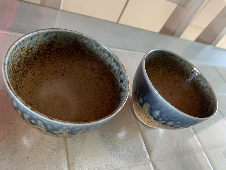 일본 장국 그릇