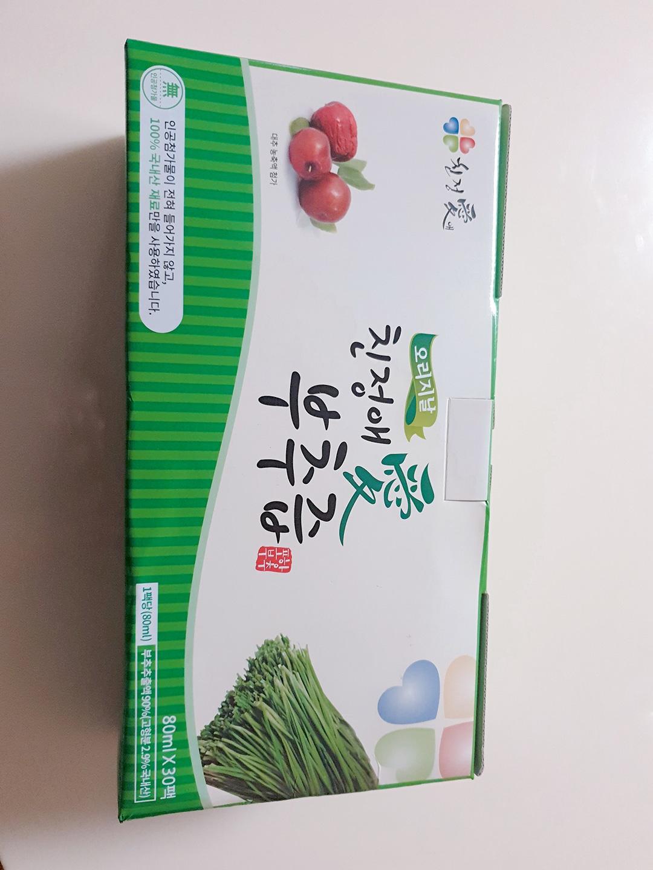친정애 부추즙 오리지널 1박스(30포)