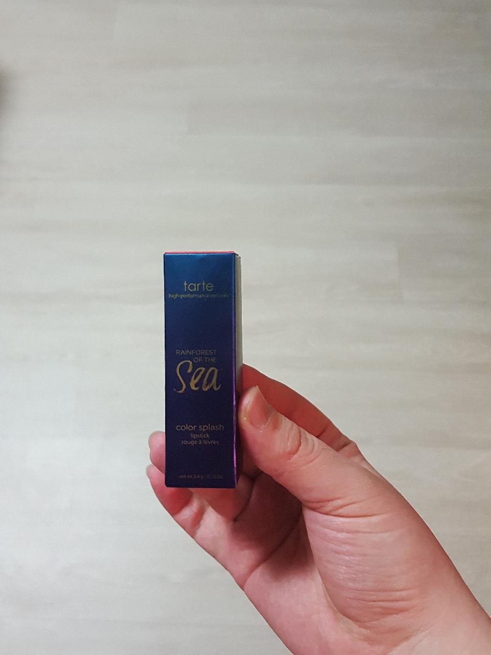 미국 유명 브랜드 tarte 레드코랄 립스틱 새제품