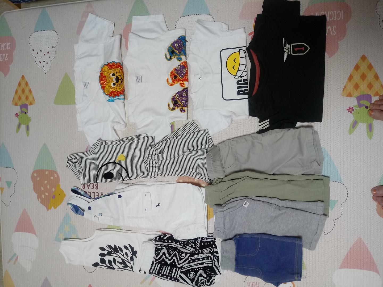 아동여름옷 일괄(90~100)