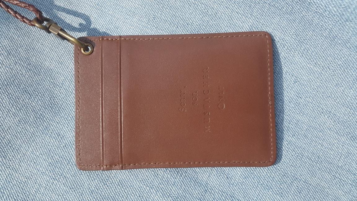 커스텀멜로 카드지갑(목걸이)