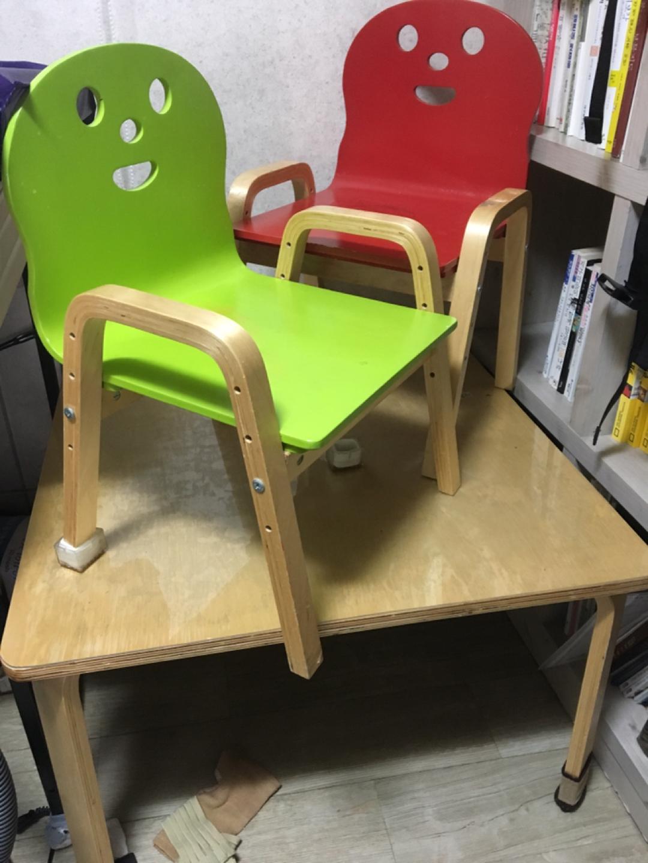 유아책상 의자