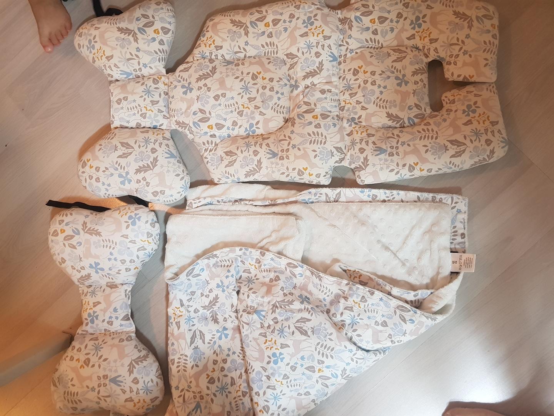 유모차라이너+담요세트,세트베게 여름용라이너