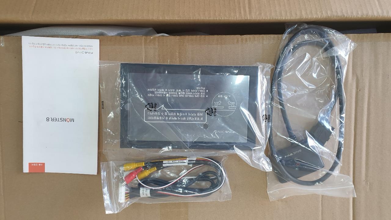 파인드라이브 몬스터 8 네비 새상품  판매합니다