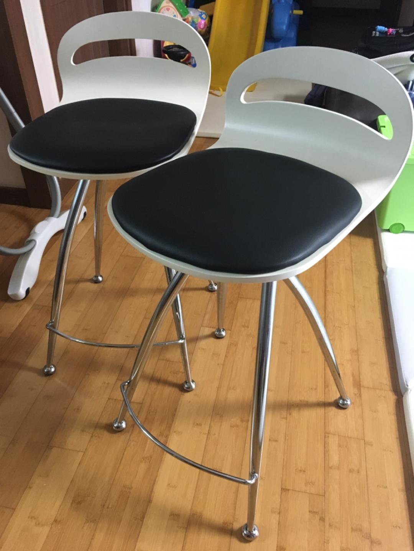 [바의자/디자인의자]아일랜드식탁의자 2개 판매합니다