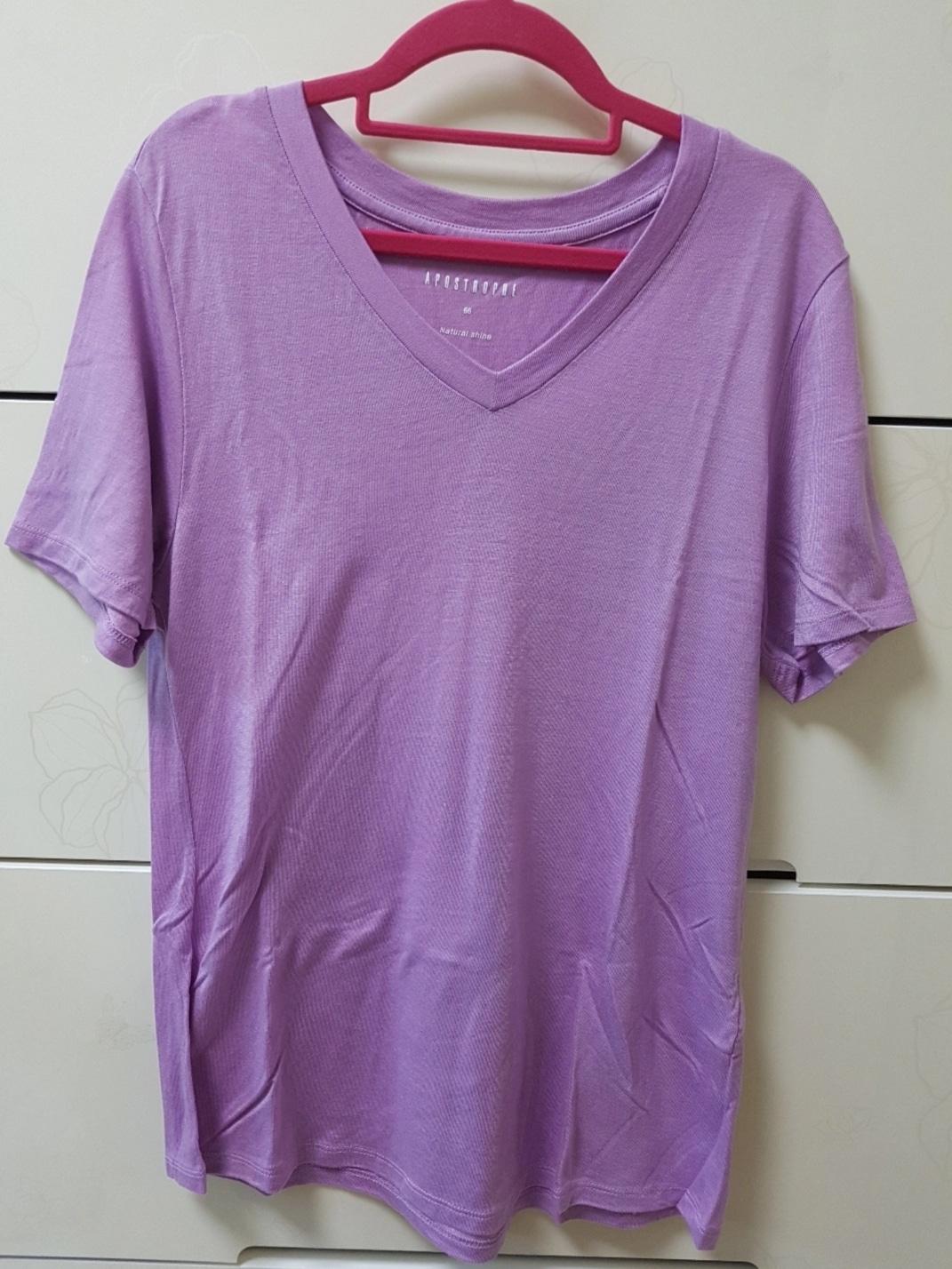 브이넥 티셔츠