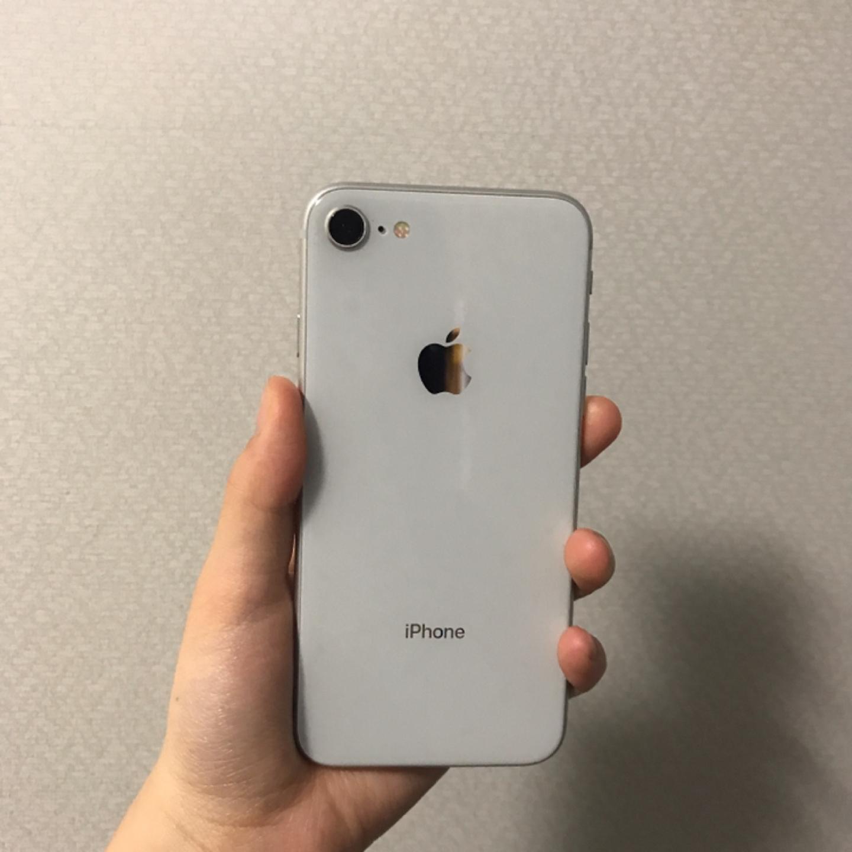 아이폰8 실버 64기가