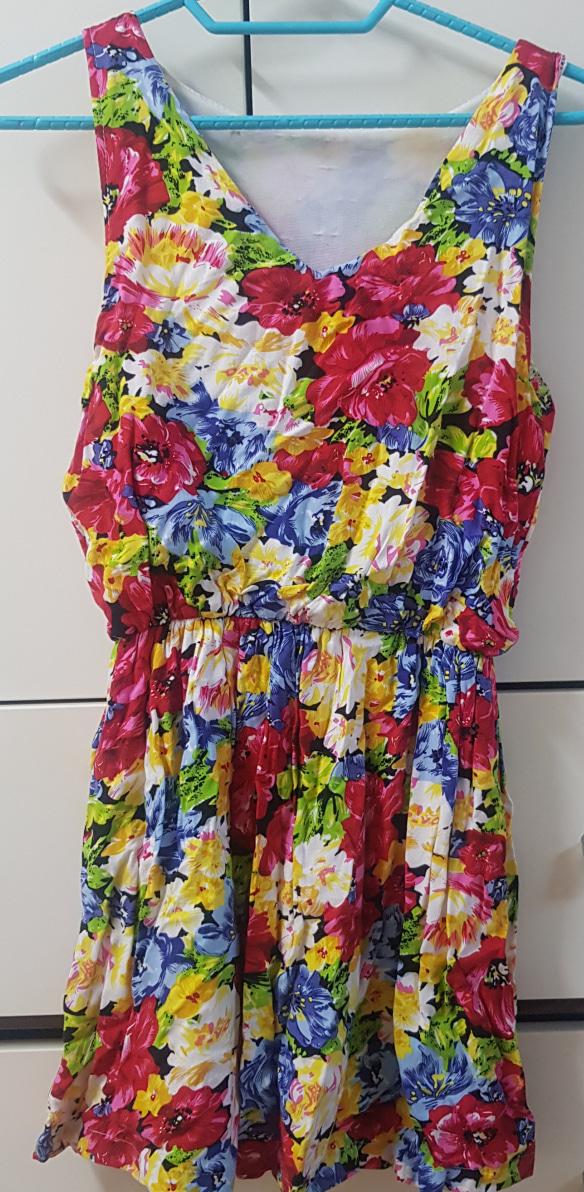여름 꽃무늬 원피스 판매합니다🙋♀️