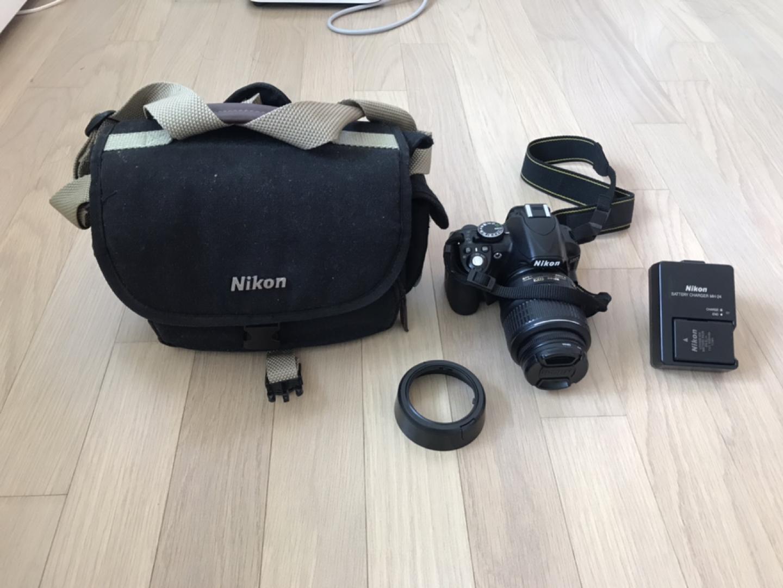 니콘 DSLR 카메라 D3100 팔아요