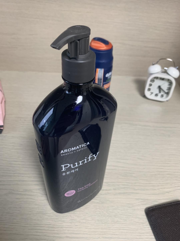 (미개봉 제품) 아로마티카 티트리 퓨리파잉 샴푸 900ml  팔아요.