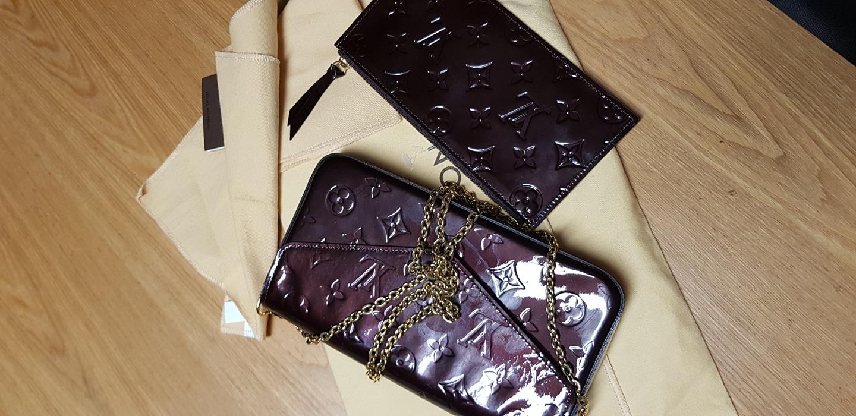 루이비통펠리시정품 베르니 아마헝뜨 가방 지갑 풀셋트