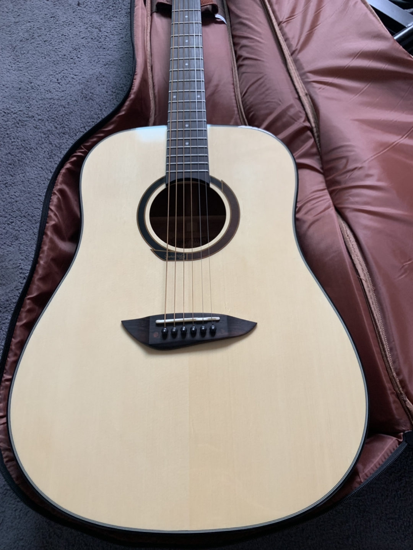 고퍼우드 g100na 유광 기타 판매합니다