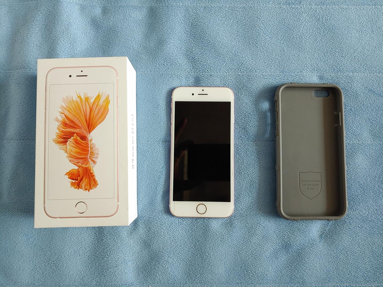 아이폰(iphone) 6s 64GB 로즈골드 판매합니다.