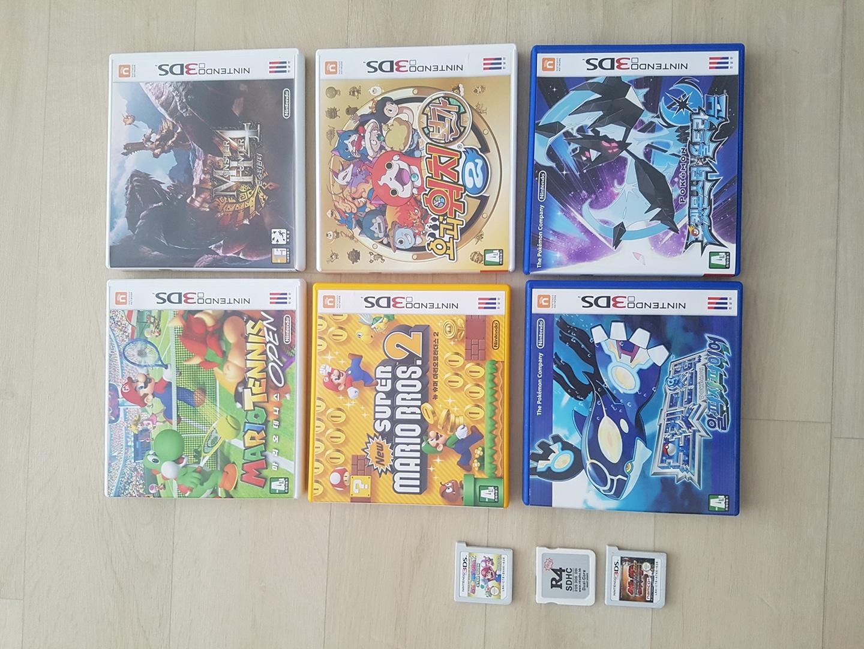 닌텐도 3ds, 2ds 게임칩 판매
