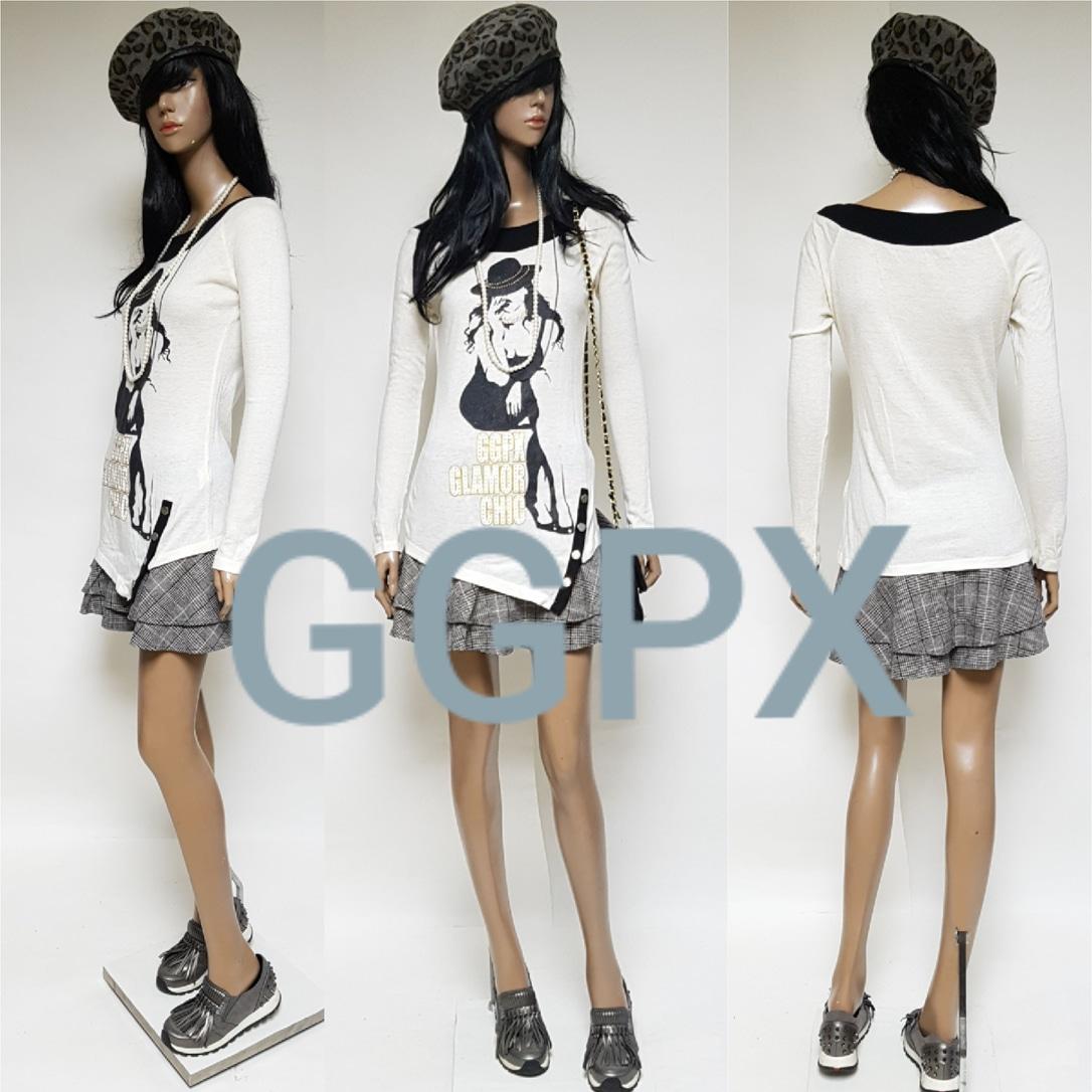 ♥GGPX새상품♥롱언발란스티셔츠