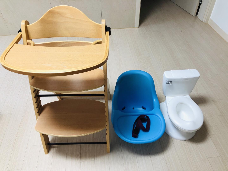유아식탁의자 ,젤리맘 범보의자, 유아변기