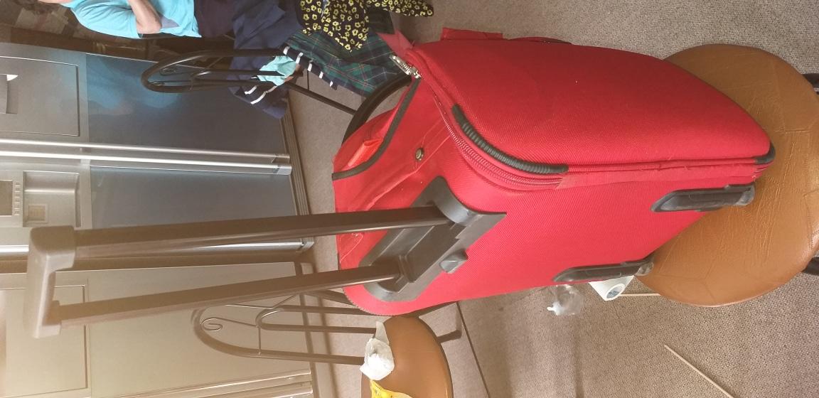 캐리어+손가방