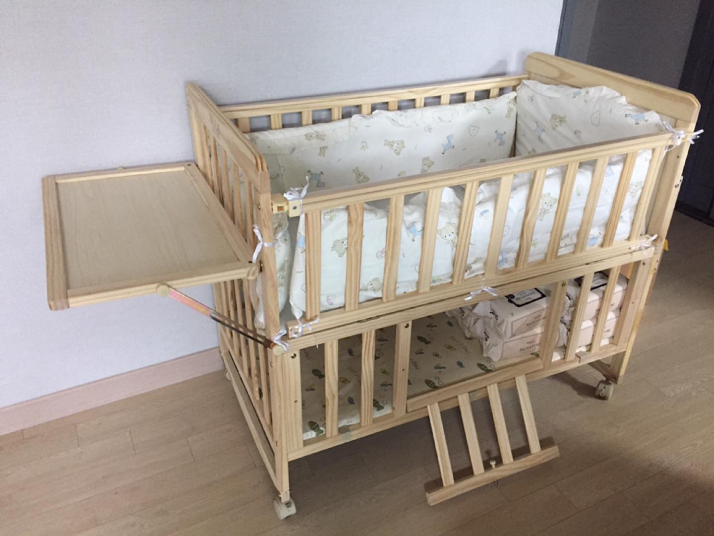벨라 원목 아기 침대