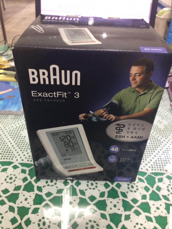 [혈압계] 가정용 혈압계, 브라운 ExactFit 3 BP4900