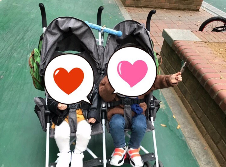 아발론 오샤인 쌍둥이 휴대용 유모차