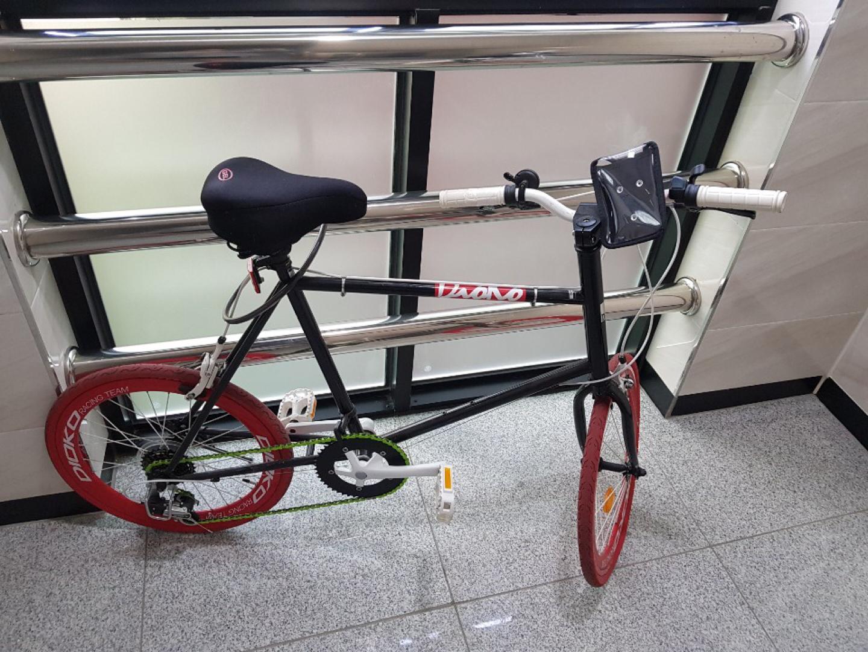 미니벨로자전거 팝니다.