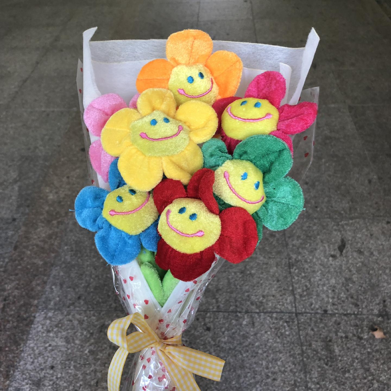 인싸템 꽃다발인형 스마일꽃인형 스마일꽃다발인형 인형꽃다발