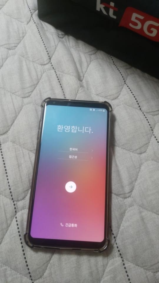 LG V30 ThinQ 64GB 블랙 S급스마트폰 팔아요 ~!