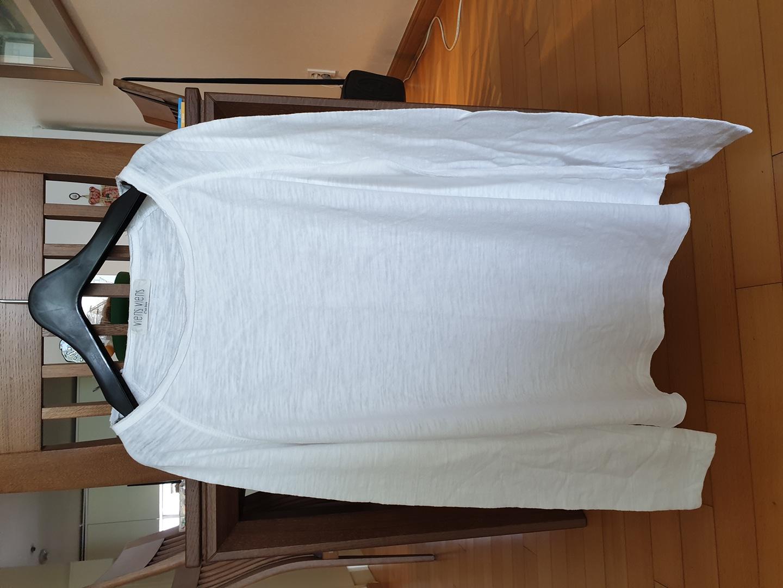 빈티지 흰색 긴팔  티셔츠  사이즈66