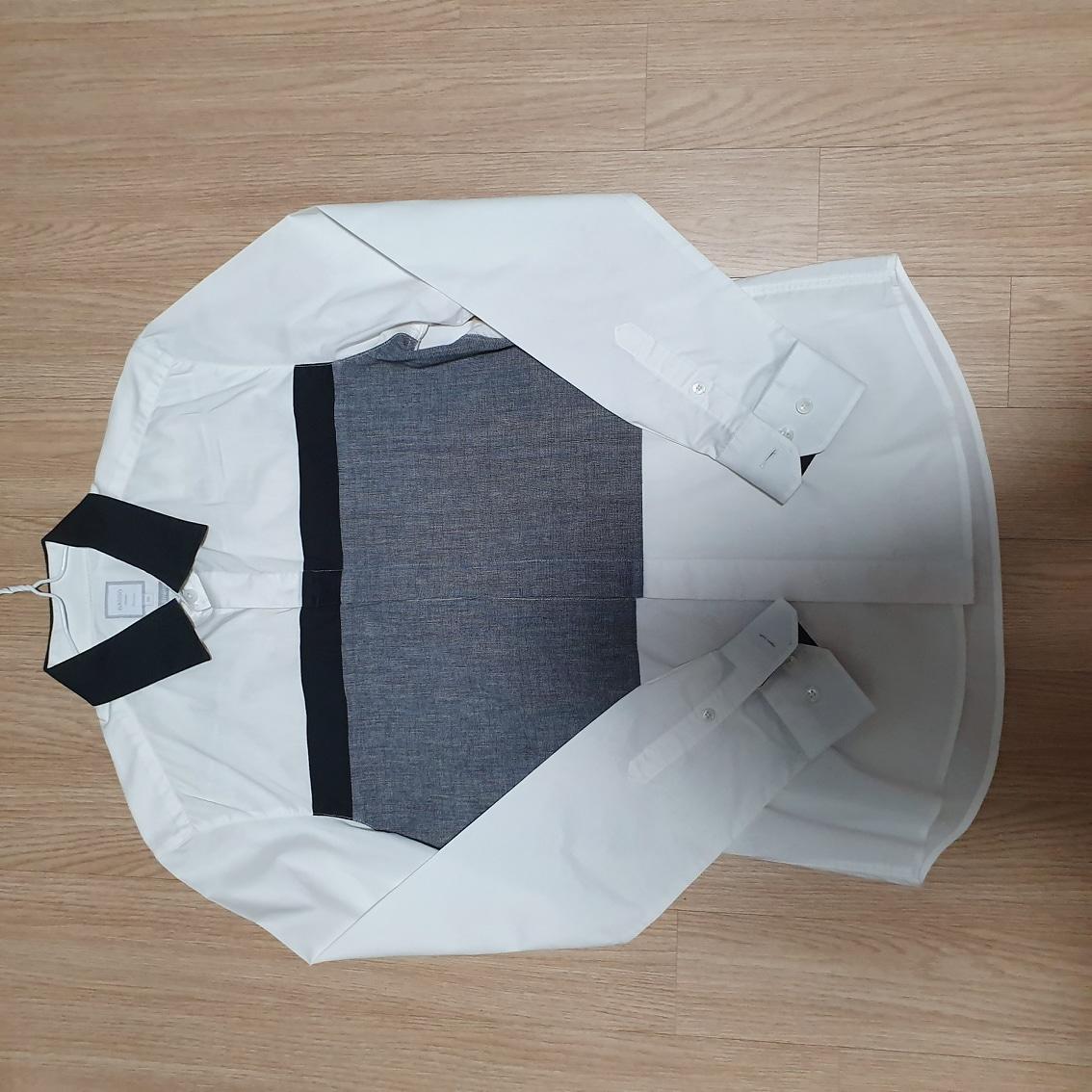 남성 바쏘셔츠 95사이즈 한벌당5000원(7벌)