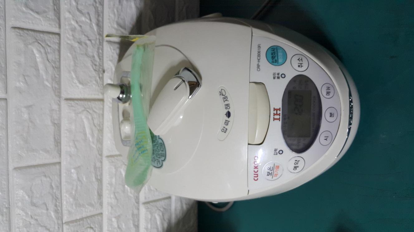 쿠쿠 IH 전기 압력밥솥 CRP-HCB0610FI
