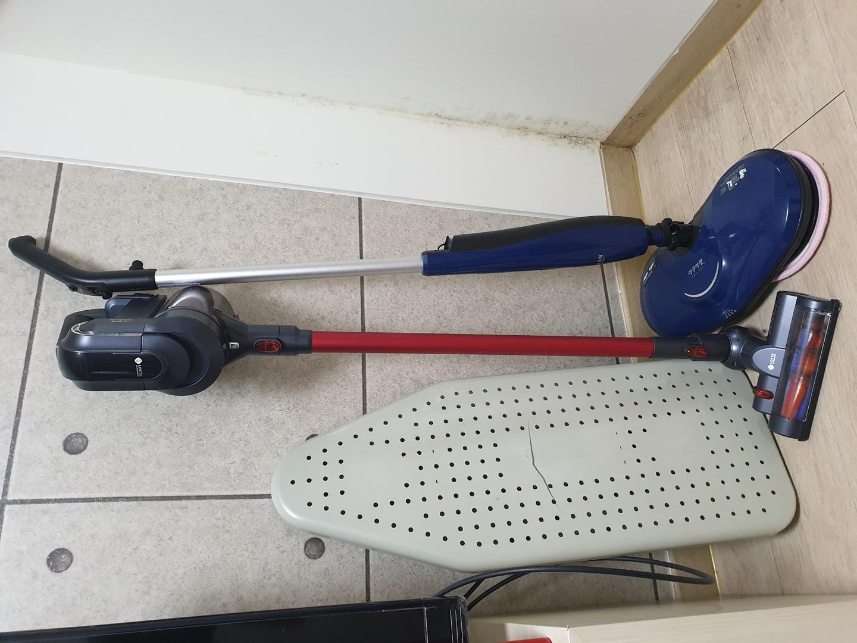 무선청소기랑 물걸레 청소기