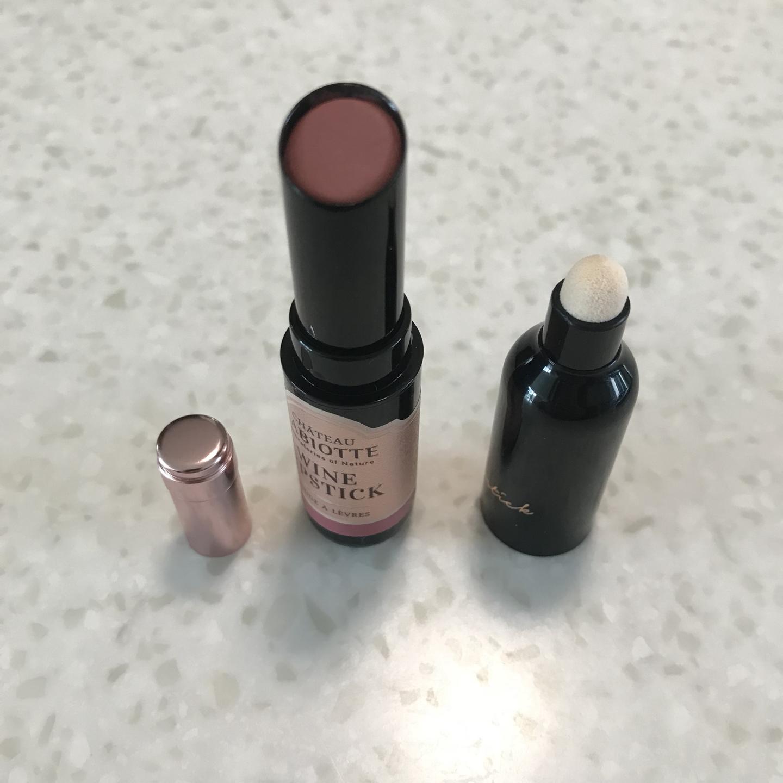 가격내림 한번사용-샤또 라비오뜨 와인 립스틱