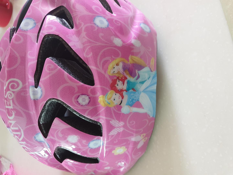 여아용 헬멧 + 보호대세트