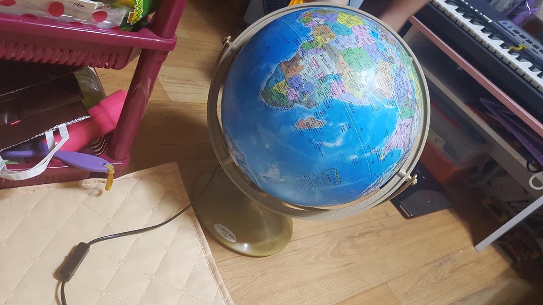 지구본 (불들어와요)