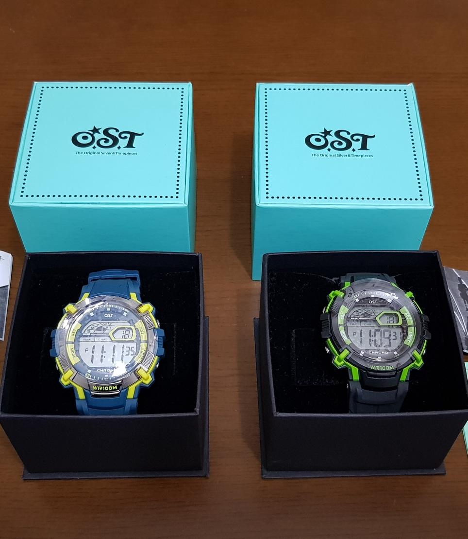 OST 전자 시계 새상품