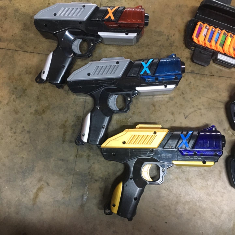 배틀 X 장난감총 메가어택 X건 장난감무기 총싸움 선물