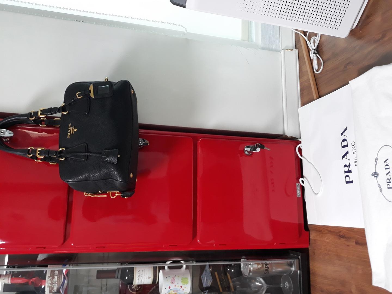 (정품)프라다 소가죽 가방