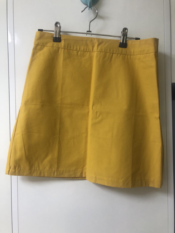 노란 스커트