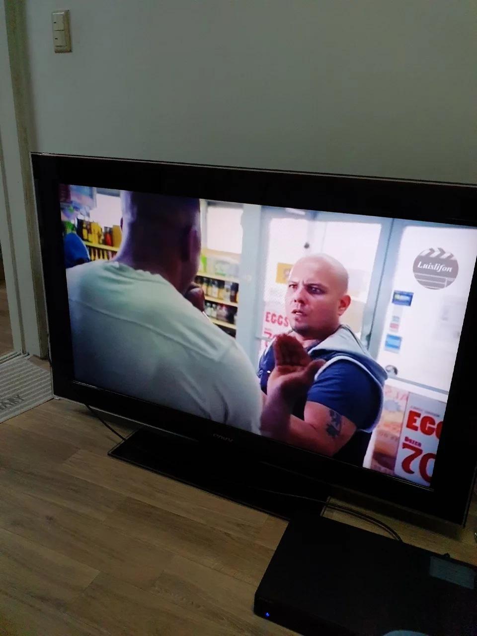 LCD 52 inch 삼숨 TV + DVD player