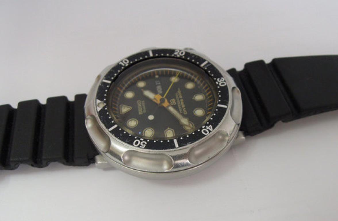 세이코 전문가용(심해 잠수) 시계