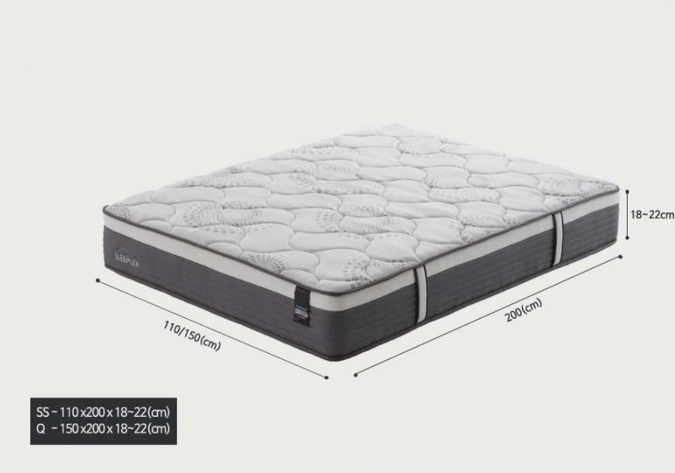 고급형 슈퍼싱글 침대+이불셋트 (무료배송)