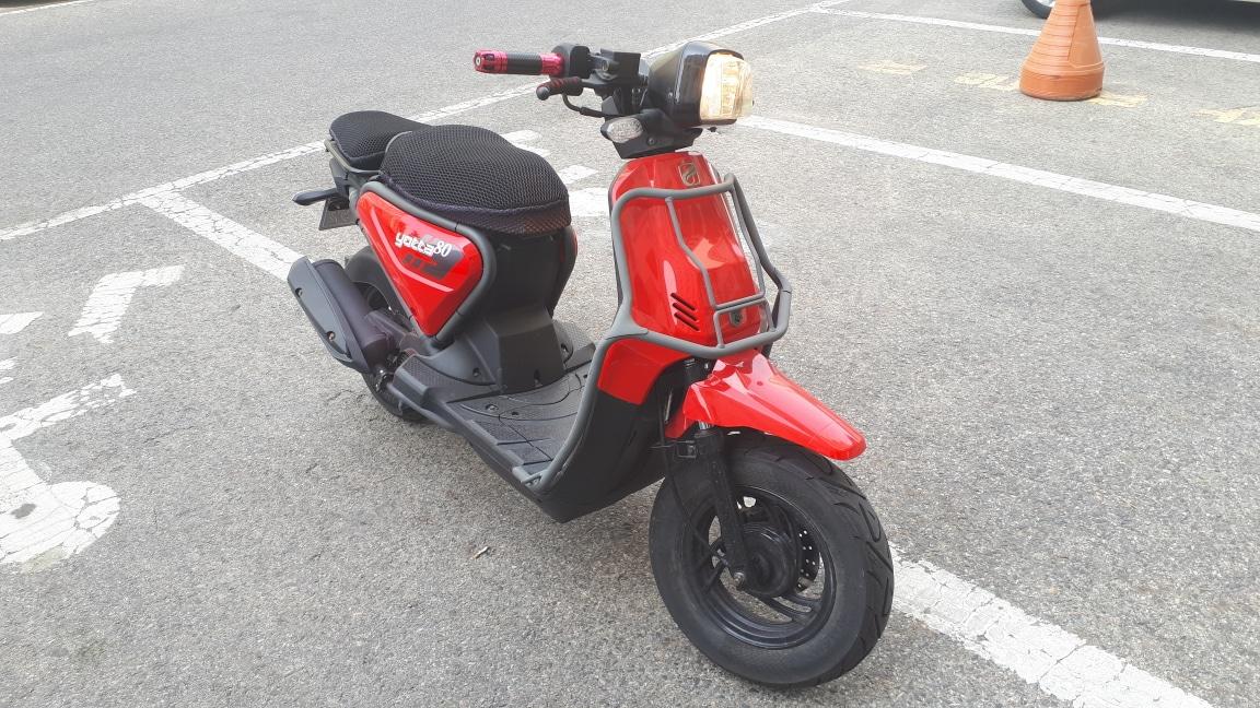 스쿠터 오토바이 요타80 팔아요