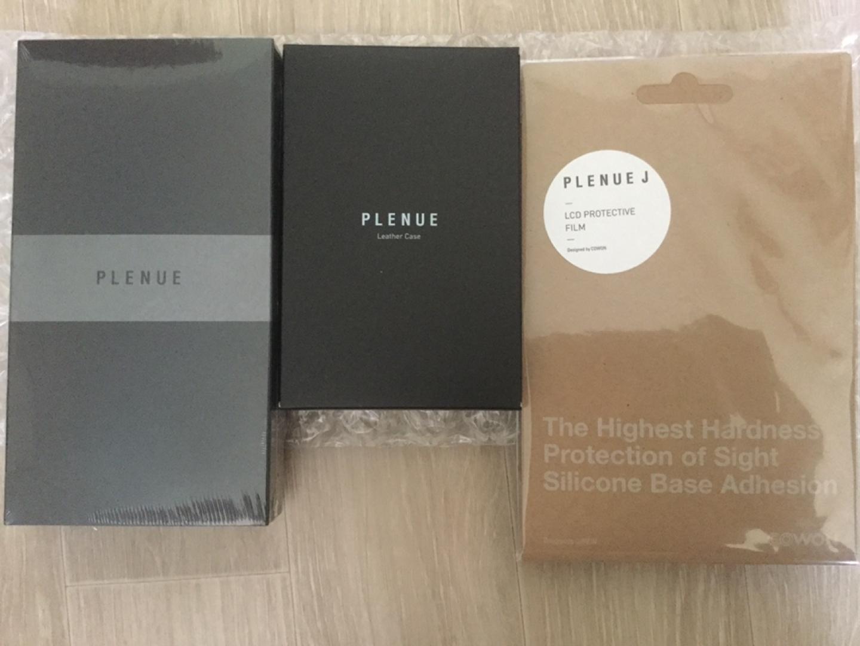 플레뉴J + 가죽케이스 + 액정보호필름