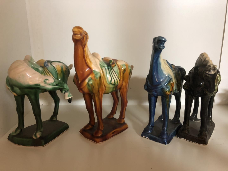 인테리용 낙타4마리