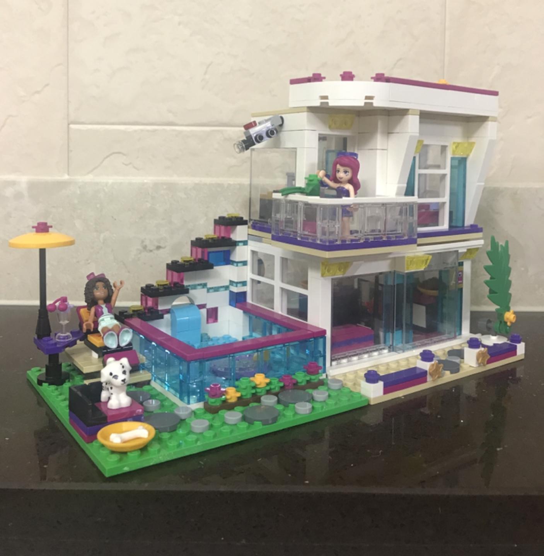 [정품] 레고 프랜즈 리비의 팝스타 하우스