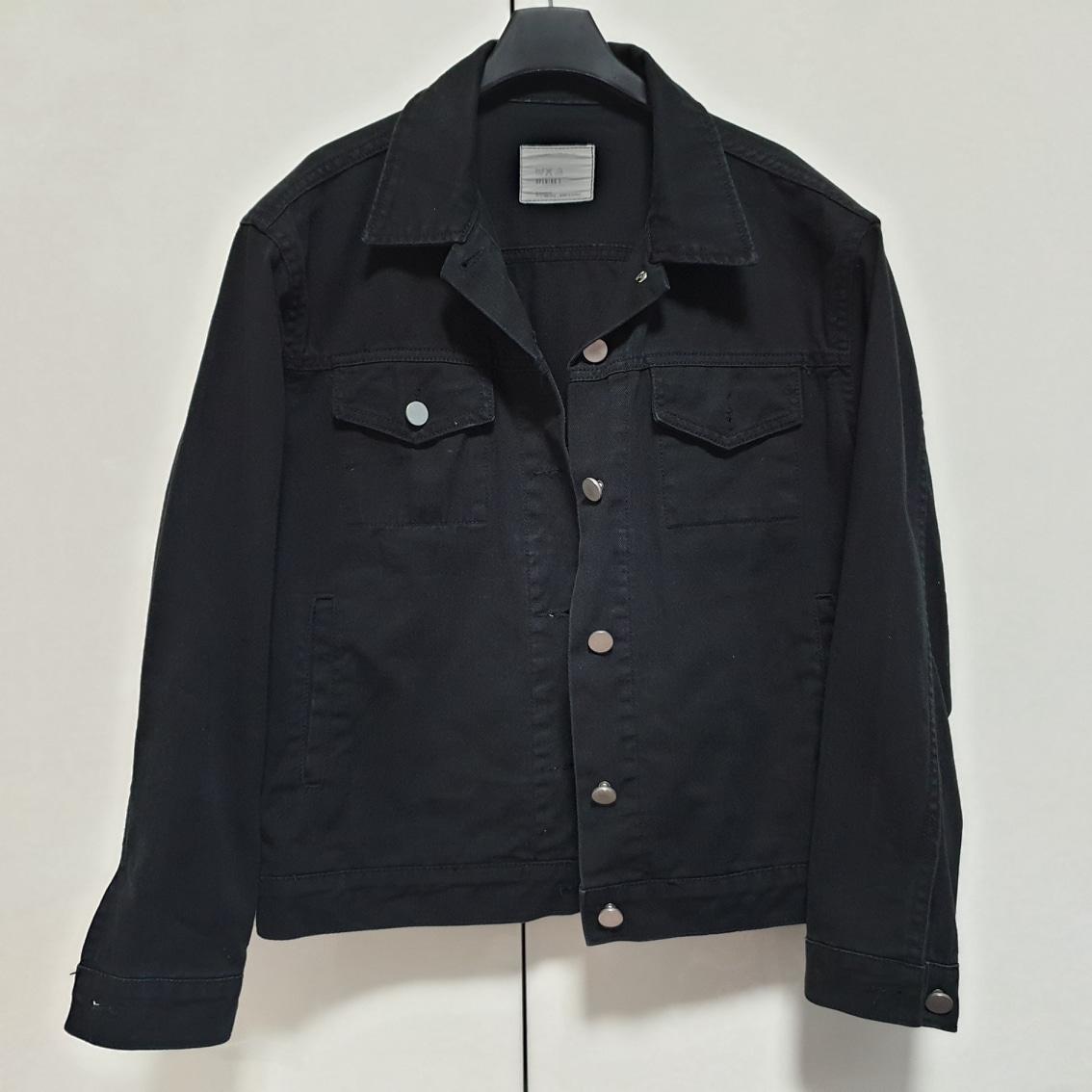 블랙데님 숏 자켓~봄가을에 걸쳐입기좋아요